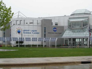 Great Lakes Science Center main entrance